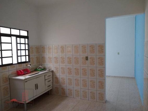 Casa Com 1 Dormitório Para Alugar, 50 M² Por R$ 550/mês - Mogi Moderno - Mogi Das Cruzes/sp - Ca0058