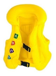 Brinquedo Colete Inflável Infantil Salva Vidas Pvc Piscina
