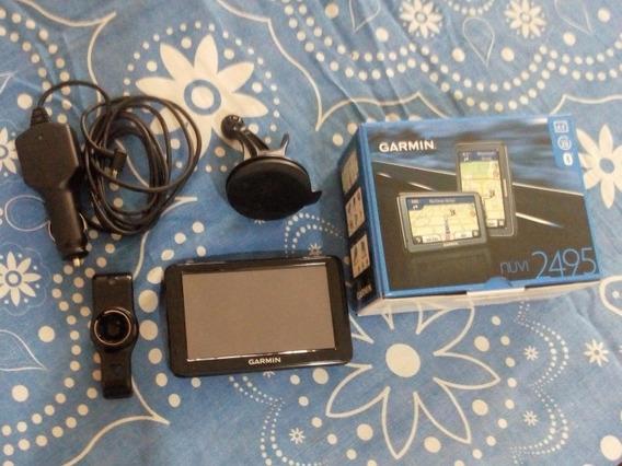 Gps Garmin Nuvi2495 Bluetooth (incluye Todos Los Accesorios)