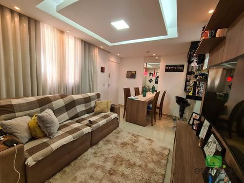 Excelente Apartamento Em Localização Estratégica No Bairro Jardim Riacho - Ess14180