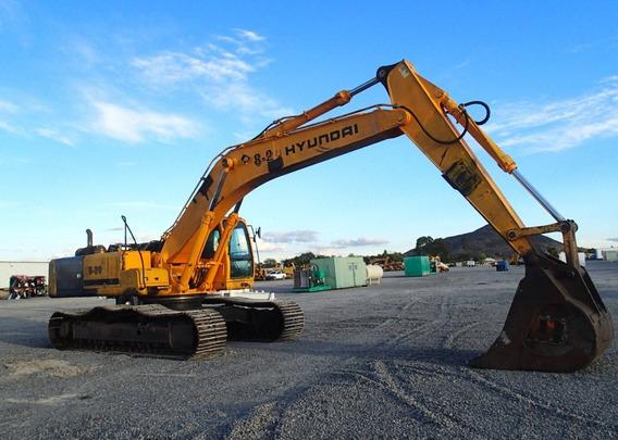 03) Excavadora Hidraulica Hyundai 450lc7a 2007