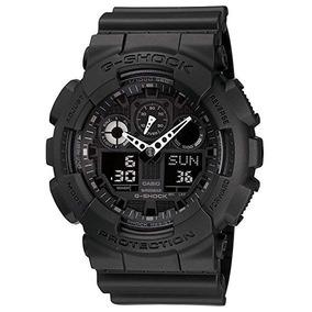 Relógio Casio G-shock Ga-100-1a1dr Black - Original