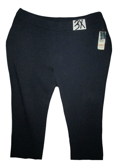 Pantalon Azul Marino Tipo Pants Talla 3x (42/44) Jones
