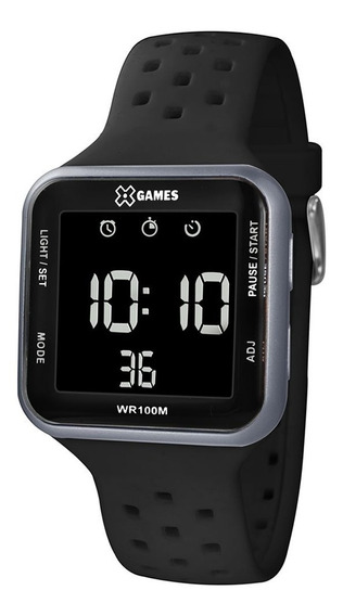 Relógio Xgames Digital Negativo Masculino Xgppd091 Original