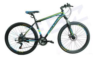 Bicicleta R27.5 Everest Overcros Shimano Cuadro Aleación Ebz