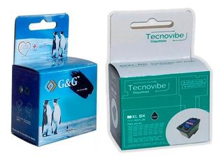 Cartuho Alternativo G&g Inkjet Nh-c 664 Xl Color Belgrano