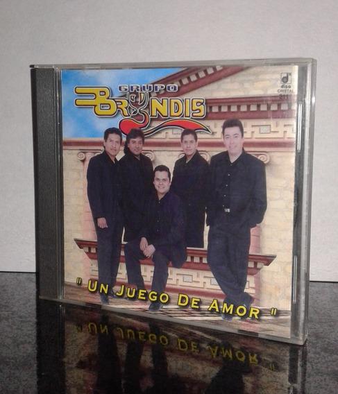 Grupo Bryndis Cd Un Juego De Amor Disa 1998 Nacional