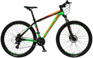 Bicicleta Wave Std Oxea R29 24 V Aluminio F/disco Suspension