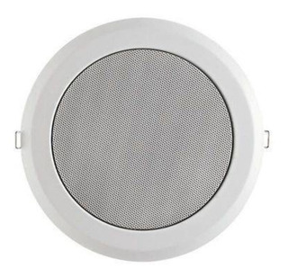 Caixa De Som Arandela 25w Coaxial Branca - Frahm