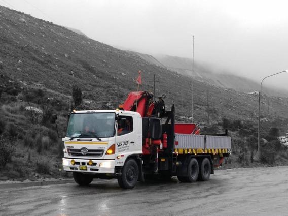 Remate De 06 Camiones Grúa. Venta Por Renovación De Flota.