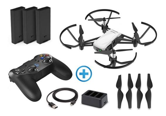 Drone Tello Dji Ello Boost Combo + Radio Controle Bluetooth