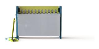 Guilhotina Pneumática 1300 X 1,0mm (cortes Automáticos)