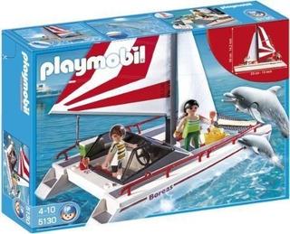 Playmobil - Catamaran Y Delfines Juguete Alemán