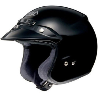 Shoei Solid Rjplatinum R Cruiser Casco Moto Negro Medio