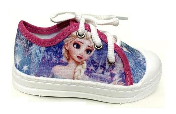 Tênis Yuupiii Infantil Frozen Anna Elsa 112