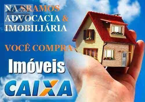 Casa Com 1 Dormitório À Venda, 85 M² Por R$ 174.447,96 - Parque Continental - São Vicente/sp - Ca1821