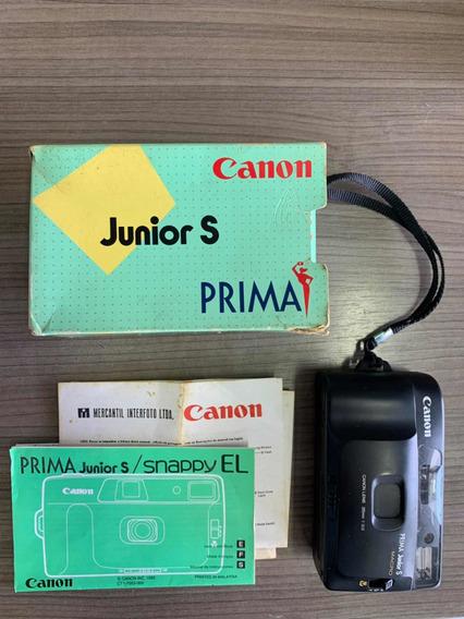 Câmera Fotográfica Cânon Júnior S Prima