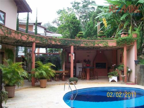 Casa Com 4 Dormitórios À Venda, 600 M² Por R$ 2.000.000 - Condomínio Jardim Paulista I - Vinhedo/sp - Ca1480