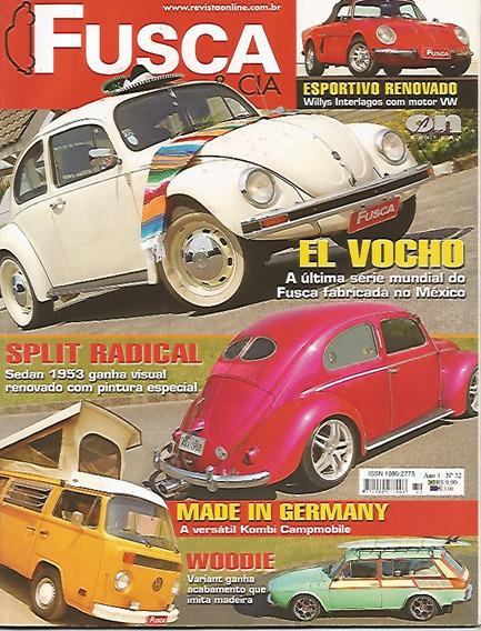 Revista Fusca & Cia Nº 32 Willys Interlagos Com Motor Vw