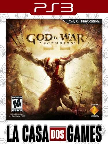 God Of War: Ascension - Dublado Em Português - Psn Ps3