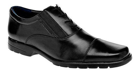 Santini Oxford Formal Hombre Negro Sint Textura Bth92519