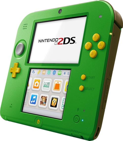 Nintendo 2ds Zelda Ocarina Of Time 3d 100% Original Novo Box