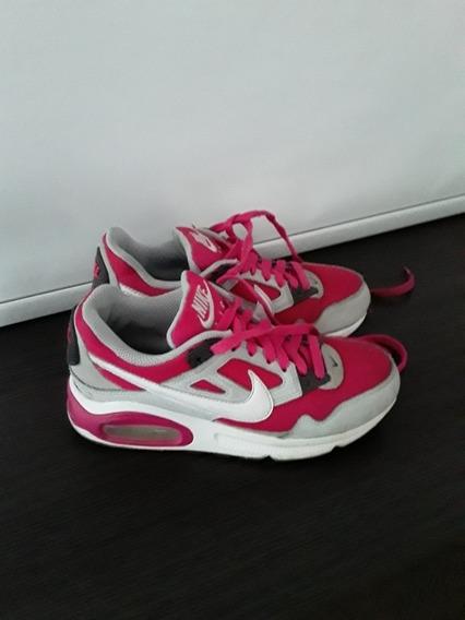 Zapatillas Nike Air Max Talle 35 Usada Exelente Estado