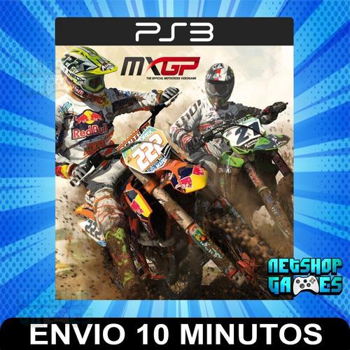 Mxgp The Official Motocross Videogame - Ps3 Digital Español