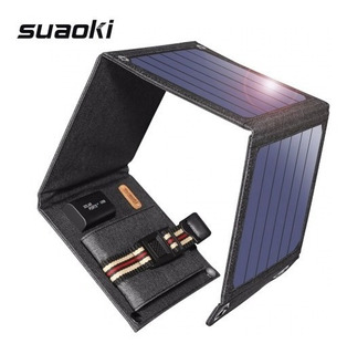 Painel/carregador Solar Suaoki 5v/ 14w