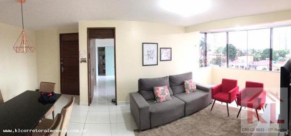 Apartamento Para Venda Em Natal, Lagoa Nova, 3 Dormitórios, 1 Suíte, 3 Banheiros, 2 Vagas - Ka 0773_2-886249