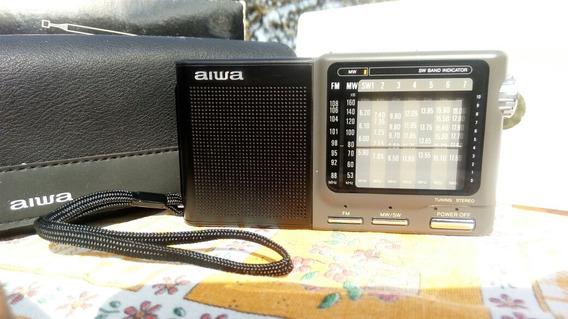 Rádio Mult Band Aiwa Wr A100 Fm Am Sw Ano 1999 Perfeito!!!