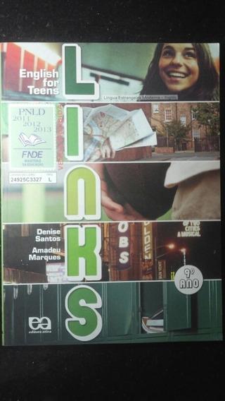 Livro - English For Teens Links 9° Ano C/ Cd