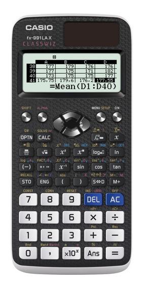 Calculadora Científica Casio Fx-991lax 553 Funções