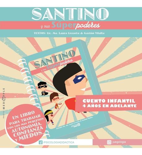 Psicología Infantil :: Santino Y Sus Súper Poderes :: Miedos
