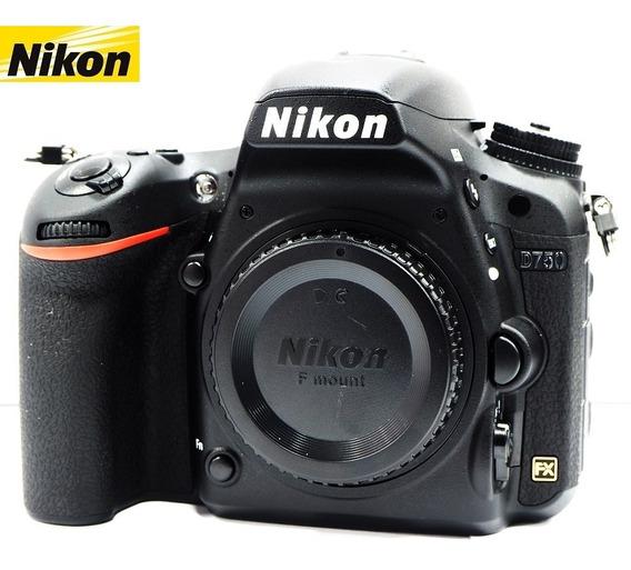 Câmera Nikon D750 24mp Full Frame - Corpo - Zerada
