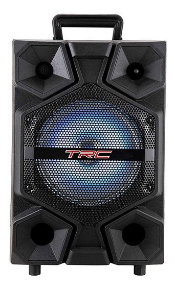 Caixa De Som Portátil Trc 512 Bluetooth 150w Iluminação Led