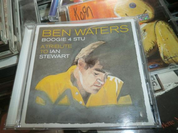 Ben Waters Boogie 4 Stu Tribute I. Stewart Cd Rolling Stones