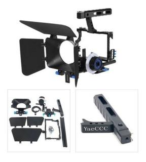 Yaeccc C500 Cámara Videocámara Video Jaula Plataforma Kit