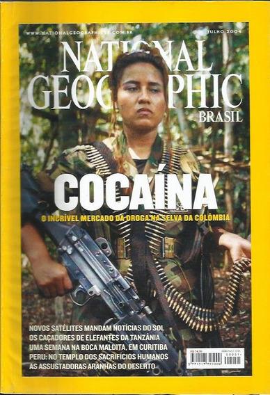 3 Edições National Geographic: Jul, Ago, Set / 2004