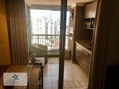 Lindo Apartamento Com Vista Panorâmica -57m² Área Útil- Varanda Gourmet - 2 Dmt 1 Suíte- 1 Vaga- R Dom Pedro Silva- Bosque Da Saúde- Metrô Imigrantes - Ap4126