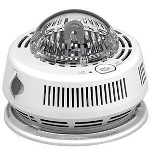 Brk 7010bsl Alarma Fotoelectrica De Humo Con Luz Estroboscop