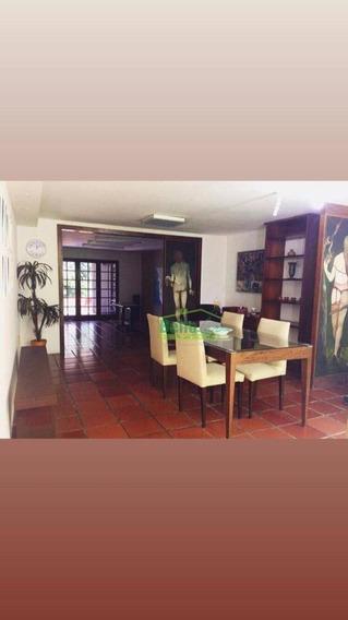 Casa Com 4 Dormitórios Para Alugar, 250 M² Por R$ 6.500/mês - Casa Forte - Recife/pe - Ca0541