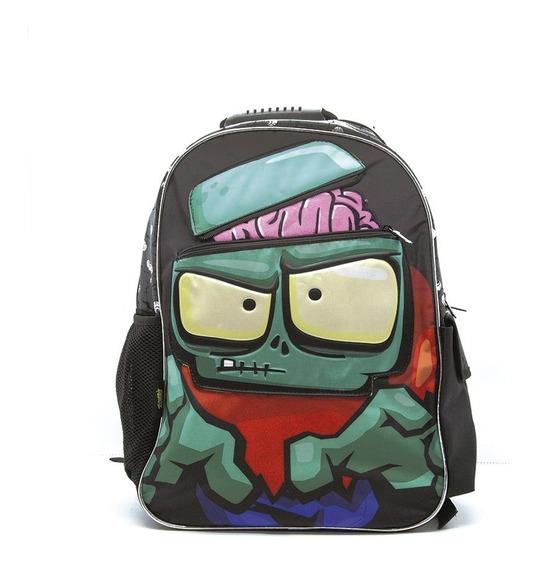 Mochila Zombies Escolar Nene 18 Plg. Top3 Oficial
