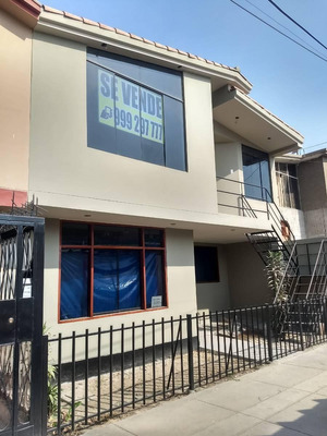Se Vende Linda Casa En Urbanización Cueto Fernandini