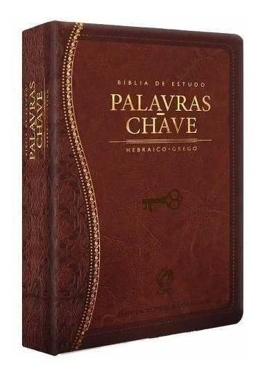 Bíblia De Estudo Palavras Chave Marrom