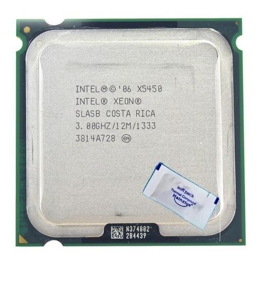 Processador Intel Core 2 Quad Q9650 Xeon X5450 775 + Brinde