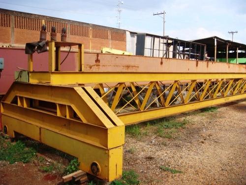 Ponte Rolante 15.40 Mts De Vão, 10 Ton - 1082