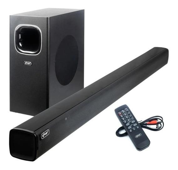 Soundbar Com Subwoofer Knup 120 W Rms C/ Controle Remoto