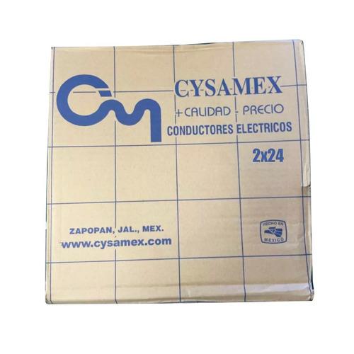 Cable Para Dmx O Micrófono Calidad Cysamex 2x24 30mts