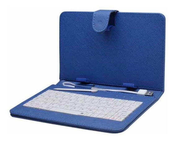 Capa Para Tablet Com Teclado Case 7 Polegadas